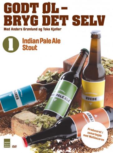 Godt øl bryg det selv 1 - IPA og stout